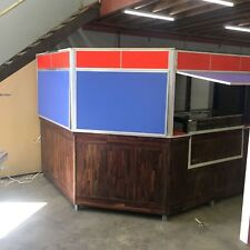 Kiosk, shop furniture, cabinets, display units pre owned
