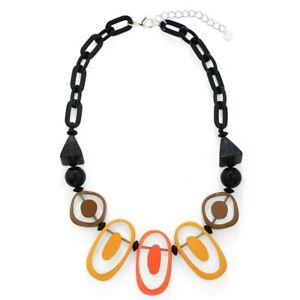 New Boho Fashion  Ovals Statement  Necklace Chain
