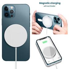 Mag безопасное беспроводное зарядное устройство магнитные зарядная станция для iPhone 12 Pro Max Mini новый