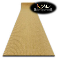 Hall Runners DOOR MATS TRAPPER beige Heavy Duty Non-Slip Rubber width 100-200 cm