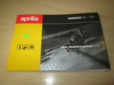 Manuals/Handbooks Aprilia Motorcycle Manuals & Literature