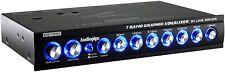 Audiopipe Eq-709X 7 Band 9.V Half Din Parametric Graphic Car Audio Equalizer Eq