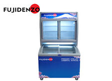 Fujidenzo 15 cu ft Stacked Showcase Freezer/ Chiller For Sale