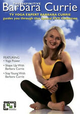 THE DEFINITIVE BARBARA CURRIE DVD Exercise Fitness UK Rele Brand New Sealed R2
