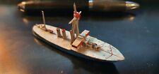 LR Louis Roussy Bateau de guerre en plomb creux navire croiseur  1/100