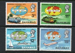BAHAMAS STAMPS 1970 GOODWILL CARAVAN PEACE ON EARTH   MINT NEVER HINGED