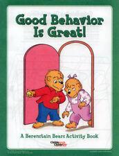 Berenstain Bears coloring book RARE UNUSED