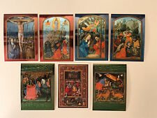 "THE ART OF THE VATICAN (1997) Complete ""CHROMIUM"" Chase Card Set of 6 w/ PROMO"