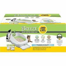 Purina Tidy Cats Litter B 00004000 ox System, Breeze System Starter Kit Litter Box, Litter
