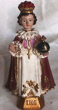Prager Jesulein, Jesuskind, Heiligenfigur für Klosterarbeit, 12cm