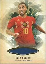 Eden Hazard Futera Enganche Game Used Jersey /19 Belgium Chelsea Real Madrid