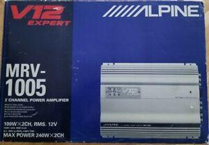 ALPINE V12 EXPERT MVR-1005. 2 CHANNEL AMPLIFIER.