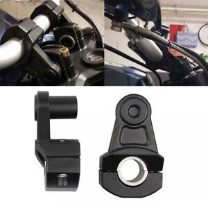 "CNC 7/8"" 22mm 28mm Motorcycle HandleBar Riser Handle Bar Mount Clamps Universal"