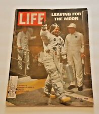 July 25, 1969 LIFE Magazine Neil Armstrong Apollo Moon Space 60s FREE SHIPPING 7