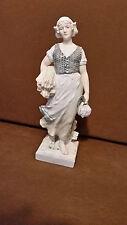 Porzellanfigur ENS Holländerin Mädchen aus Holland ?   KVE Marke Bouval