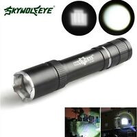 Zoomable Protable 8000LM Zoomable LED T6 LED 18650 Flashlight Camp Torch Lamp k