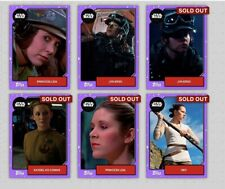 Star Wars Card Trader 6 Purple Base
