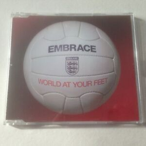 Embrace ‎– World At Your Feet (2006) CD single England football anthem