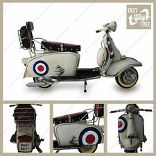 1966 lambretta 200sx Special tin plate model with target livery great gift