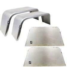 "Pair of Square Single Fenders (14""-16"" wheels) & Fender backs T68SEX2WFB"