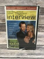 Interview (DVD, 2007) Sienna Miller Steve Buscemi NEW Sealed
