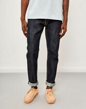 Edwin jeans ed 80 Slim Tapered Rosso elencati Selvage Blu PUZZONI W28 L32 RRP £ 140