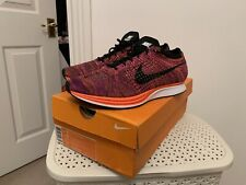 Nike Flyknit Racer Acai Berry UK 9.5 US 10.5