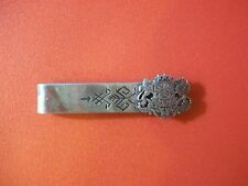 Vintage Latvian ethnographic clip with Coat of Arms