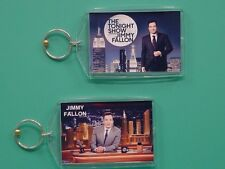 JIMMY FALLON - The Tonight Show - with 2 Photos - Collectible GIFT Keychain
