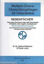 *- Multiple-Choice-Überprüfungsfragen für HEILPRAKTIKER -NEBENFÄCHER tb 2001