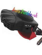 Car 12v heater windscreen demister hot or cold cooler ice de-mist ceramic + plug