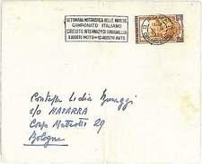 ANNULLO SPECIALE: CAMPIONATO ITALIANO MOTOCICLISMO - MARCHE  SINIGALLIA 1952
