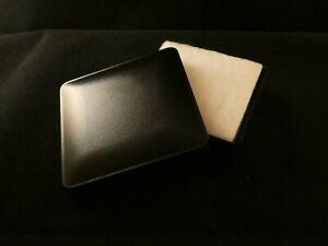Geschenkbox Schwarz Schachtel Schmuck Ohrring Kette Ring Schwarz Etui Verpackung