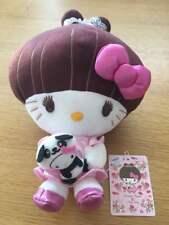 Hello Kitty Tetsuko Kuroyanagi Plush Doll Sanrio JP Mascot Lady Gaga New Rare M