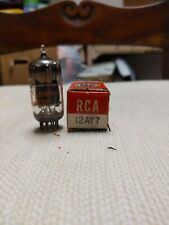 6072 RCA NOS Tube Matched Pair Preamp Tubes 12ay7