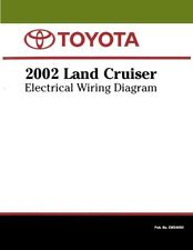 2002 toyota land cruiser wiring diagrams schematics layout factory oem
