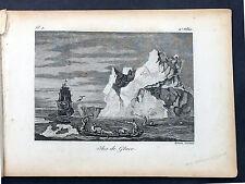 1817 James Cook Antique Atlas, 2nd Voyage Pacific & Antartica - 1 Map 21 Prints