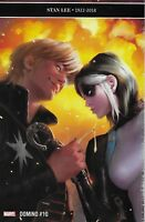 Domino Comic Issue 10 Stan Lee Tribute Modern Age First Print 2019 Simone Marvel