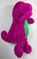 Vintage 14 in. Barney the Purple Dinosaur - Novelty Character Stuffed Figure/Toy