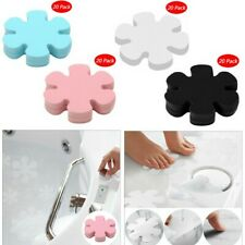 20Pcs 10cm Flower Anti-slip Bathtub Decals Stickers Bath Shower Treads for Tubs