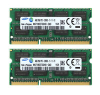 Samsung 8GB 2X 4GB PC3-12800 DDR3 1600MHz RAM Laptop Memory SODIMM RAM 204PIN #2