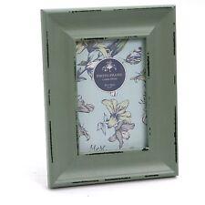Splendido stile vintage effetto anticato cornice foto in legno 4x6 ~ Verde