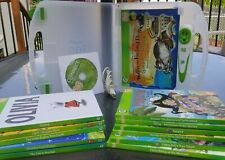 Leap Frog TAG Pen Reader System With Carry Case and 12 Books!
