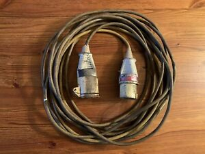 110 Volt Cable - 10.3 Metres Long x 16 Amp