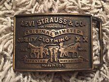 Levi Strauss & Co Belt Buckle