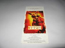 RARE 2003 KANGAROO JACK PREMIERE SCREENING MOVIE TICKET - CHRISTOPHER WALKEN