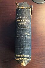 The Holy Bible Containing The Old And New Testaments (Leather Cover) Color Maps
