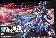 2014 Bandai Mobile Suit Z Zeta Gundam MSV HGUC 1/144 MSZ-008 Z-II Chogokin NY