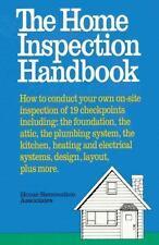 The Home Inspection Handbook Home Renovation Paperback