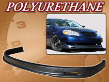 FOR 05-06 TOYOTA COROLLA T-M POLY URETHANE PU FRONT BUMPER LIP SPOILER BODY KIT